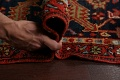 Pre-1900 Antique Vegetable Dye Heriz Serapi Persian Rug 12x14 image 20