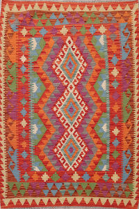 Pastel Color South-Western Kilim Oriental Area Rug 3x5