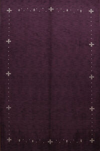 Tribal Purple Gabbeh Oriental Area Rug 9x12
