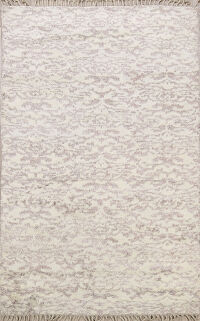 Transitional Moroccan Oriental Area Rug 5x8