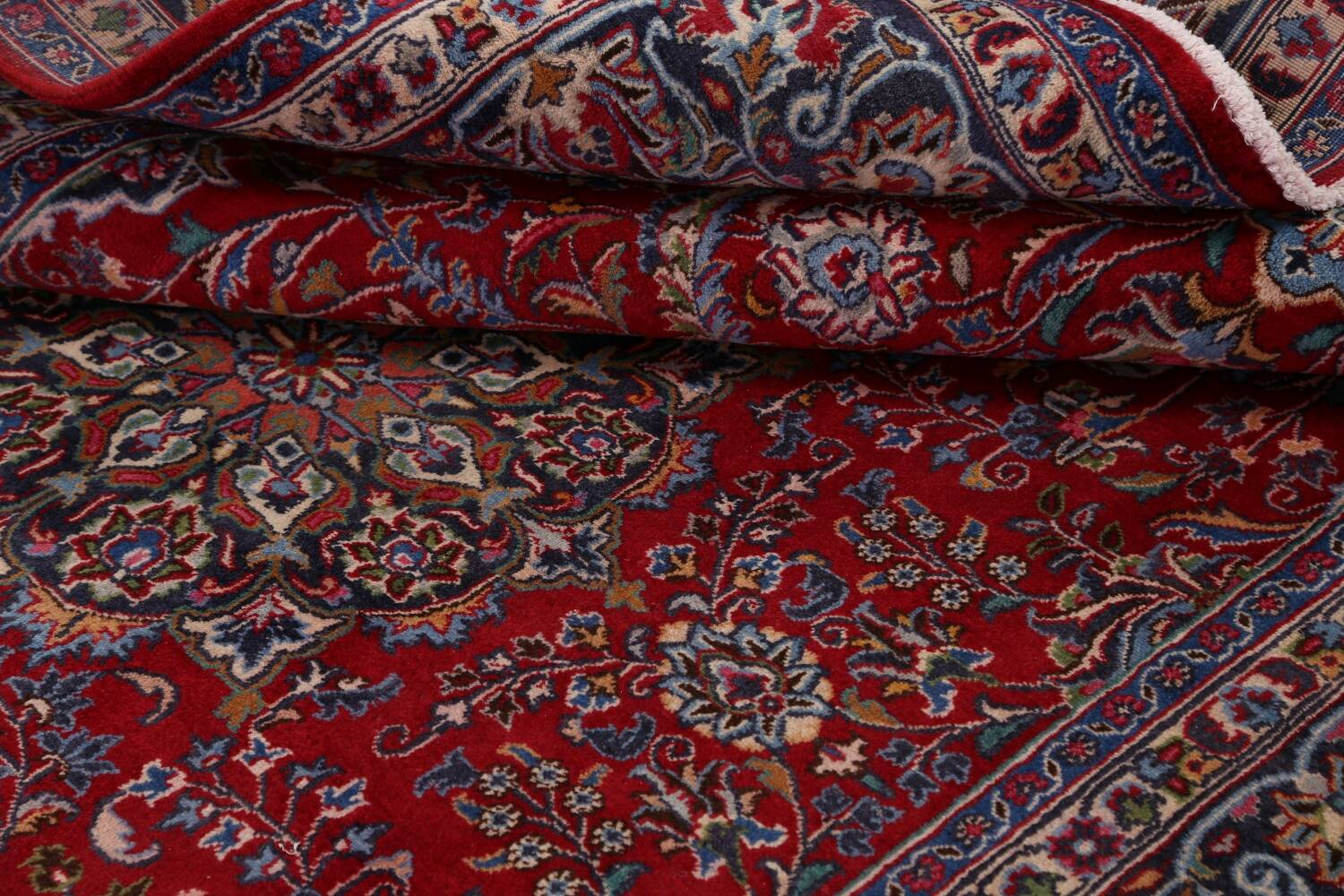 Floral Mashad Persian Red Area Rug 7x10 image 17