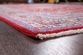 Floral Mashad Persian Red Area Rug 7x10 image 6