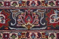 Floral Mashad Persian Red Area Rug 7x10 image 9