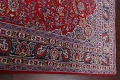 Floral Mashad Persian Red Area Rug 7x10 image 14