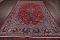 Floral Mashad Persian Red Area Rug 7x10 image 16