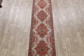 All-Over Floral Tabriz Persian Runner Rug 3x12 image 3