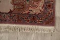 All-Over Floral Tabriz Persian Runner Rug 3x12 image 5