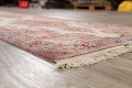 All-Over Floral Tabriz Persian Runner Rug 3x12 image 6