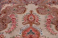 All-Over Floral Tabriz Persian Runner Rug 3x12 image 11
