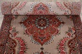 All-Over Floral Tabriz Persian Runner Rug 3x12 image 15
