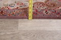 All-Over Floral Tabriz Persian Runner Rug 3x12 image 18