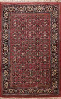 All-Over Geometric Bidjar Oriental Area Rug 6x9