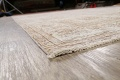 Antique Muted Floral Tabriz Persian Area Rug 9x12 image 6
