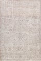Antique Muted Floral Tabriz Persian Area Rug 9x12 image 1