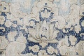 Antique Muted Floral Kerman Persian Area Rug 9x11 image 9