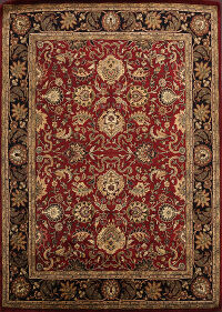 All-Over Floral Agra Oriental Area Rug 8x10