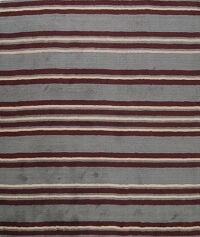 Striped Gabbeh Oriental Area Rug 8x8 Square