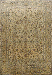 Antique Floral Najafabad Persian Area Rug 10x13