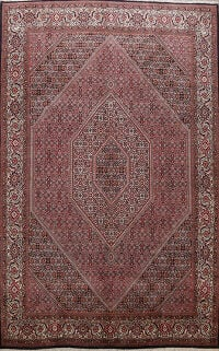 Geometric Bidjar Persian Area Rug 8x11