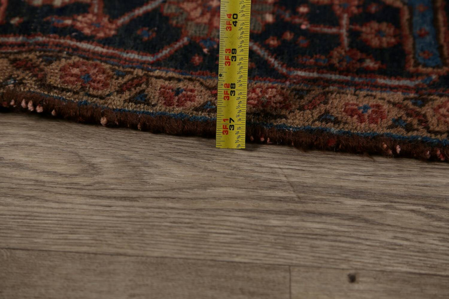 Antique All-Over Heriz Persian Area Rug 6x9 image 21