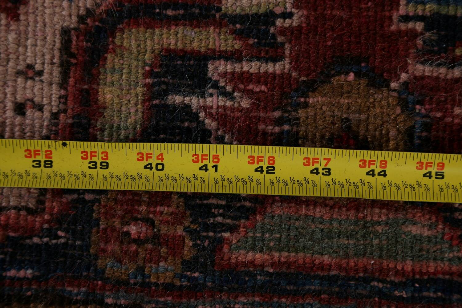Antique All-Over Heriz Persian Area Rug 6x9 image 22