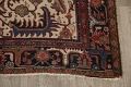 Antique All-Over Heriz Persian Area Rug 6x9 image 5