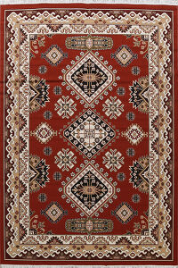 Geometric Tabriz Turkish Oriental Area Rug 8x11