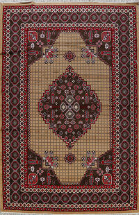Geometric Aubusson Turkish Oriental Area Rug 10x13