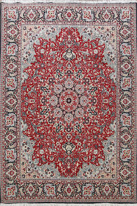 Floral Kashmar Turkish Area Rug 10x13