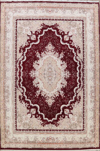 Floral Tabriz Turkish Area Rug 10x13