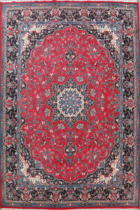 Floral Kerman Turkish Area Rug 10x13