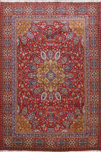 Traditional Kashmar Oriental Area Rug 10x13