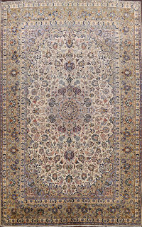 Antique Najafabad Persian Area Rug 10x14