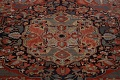 Antique Heriz Serapi Vegetable Dye Persian Area Rug 12x19 image 4