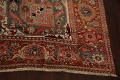 Antique Heriz Serapi Vegetable Dye Persian Area Rug 12x19 image 5