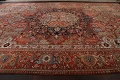 Antique Heriz Serapi Vegetable Dye Persian Area Rug 12x19 image 15