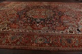 Antique Heriz Serapi Vegetable Dye Persian Area Rug 12x19 image 17