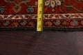 Antique Heriz Serapi Vegetable Dye Persian Area Rug 12x19 image 22