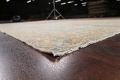 Antique Muted Floral Mashad Persian Area Rug 9x13 image 6