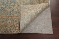 Antique Muted Floral Mashad Persian Area Rug 9x13 image 7
