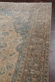 Antique Muted Floral Mashad Persian Area Rug 9x13 image 13