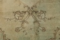 Antique Muted Floral Mashad Persian Area Rug 10x13 image 9
