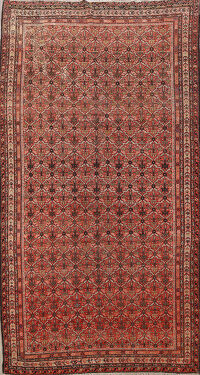 Pre-1900 Antique Malayer Vegetable Dye Persian Area Rug 5x10