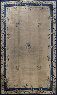 Antique Floral Peking Oriental Area Rug 12x17 Large