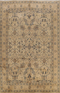 Antique Sarouk Persian Area Rug 9x12