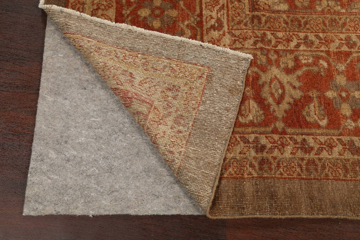 Pre-1900 Antique Sultanabad Persian Rug 13x20 image 7