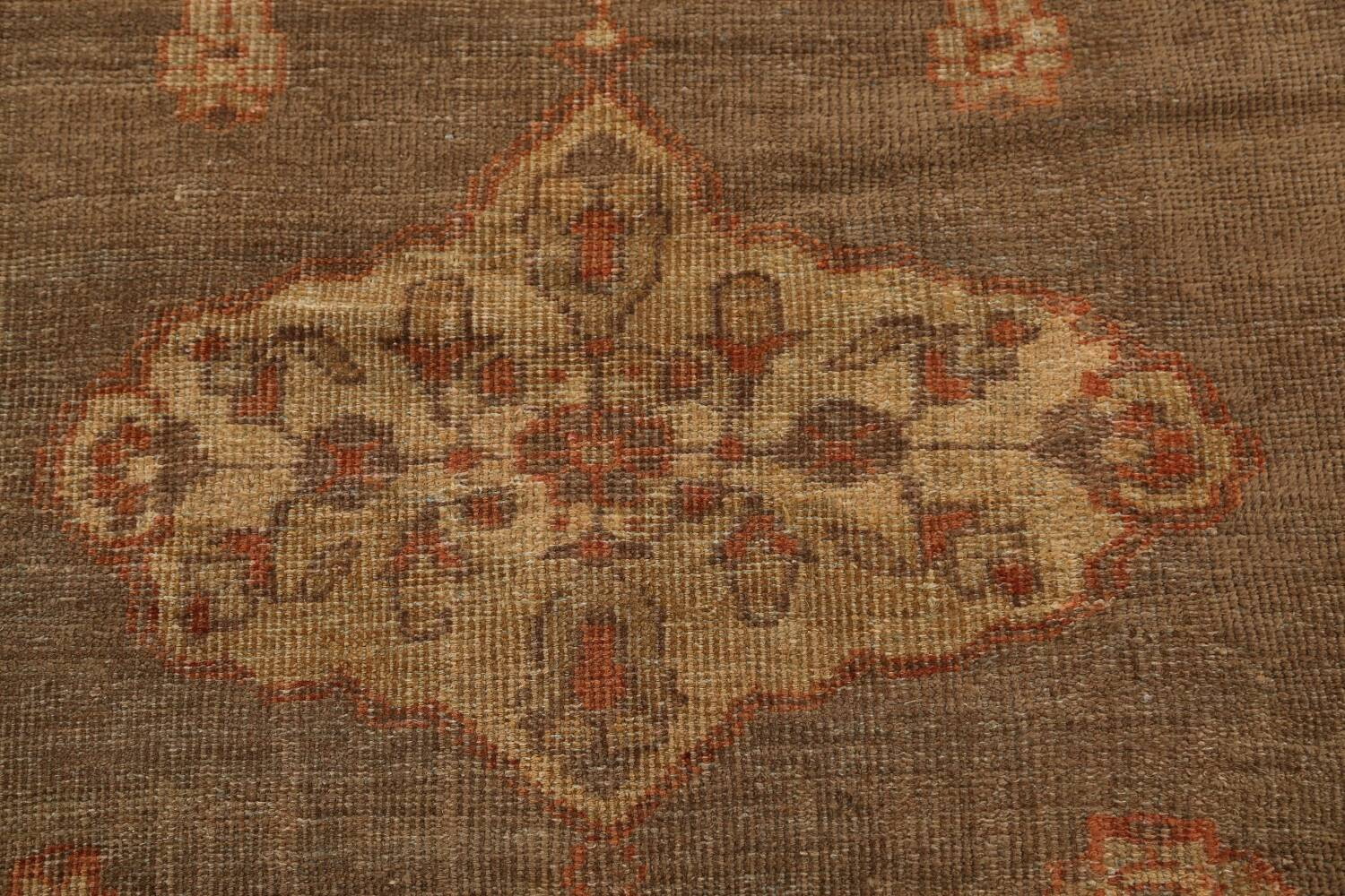 Pre-1900 Antique Sultanabad Persian Rug 13x20 image 10