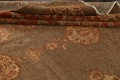 Pre-1900 Antique Sultanabad Persian Rug 13x20 image 15