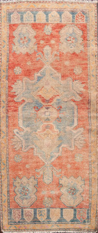 Muted Authentic Oushak Turkish Area Rug 2x4