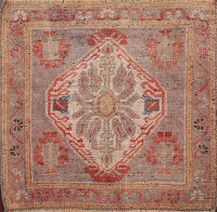 Authentic Oushak Turkish Area Rug 2x2 Square